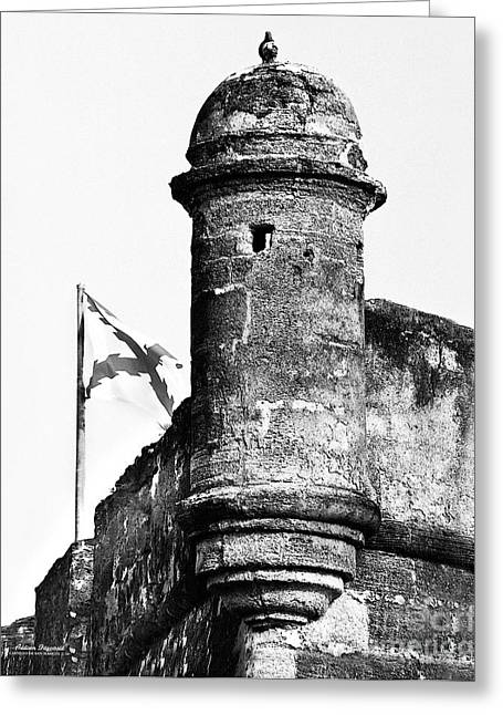 Castillo Lookout Greeting Card by Addison Fitzgerald