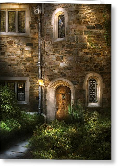 Castle - Enter If You Dare Greeting Card