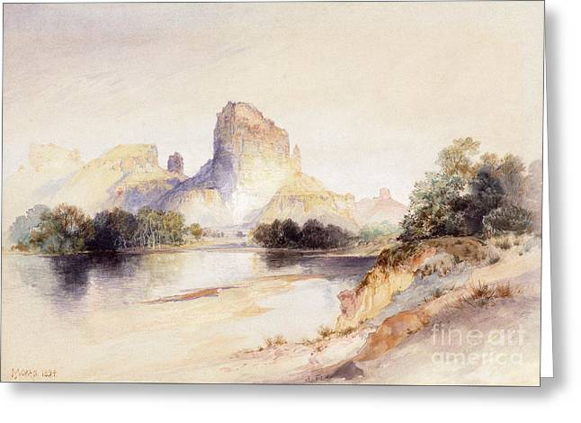 Castle Butte, Green River, Wyoming Greeting Card