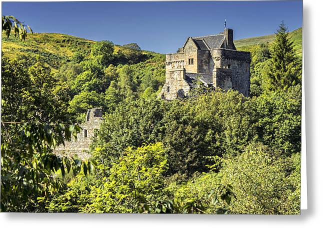 Castle Campbell Greeting Card by Jeremy Lavender Photography
