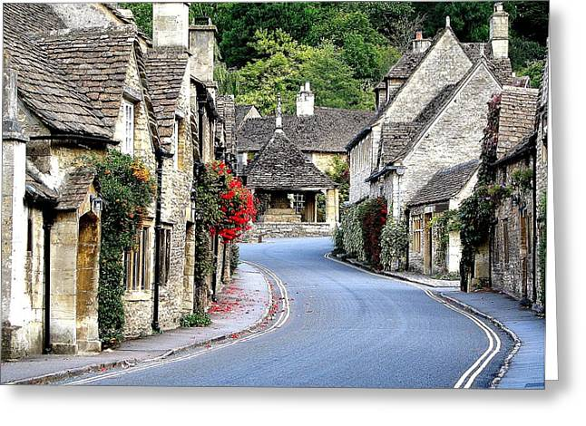 Castle Combe Greeting Card