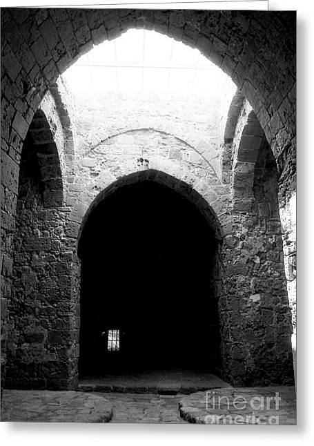 Castle Dungeon Greeting Card