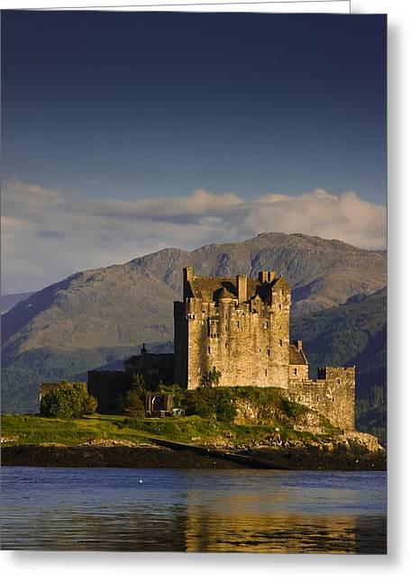 Castle Eilean Donan Greeting Card by Gabor Pozsgai