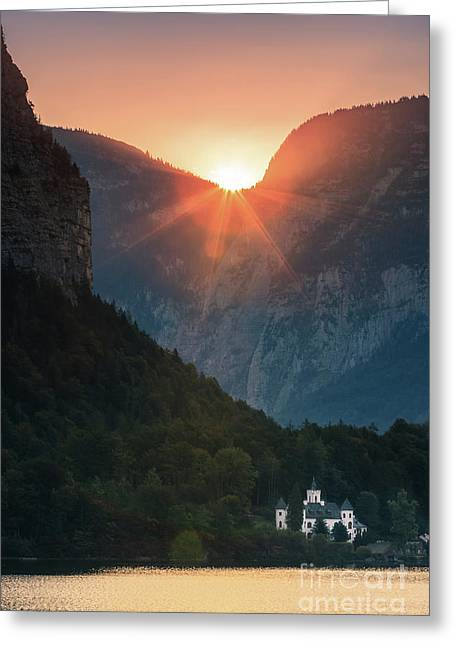 Castle Grub In Austria Greeting Card by Henk Meijer Photography