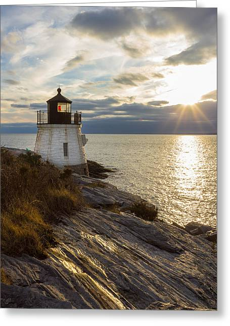 Castle Hill Light 2 Greeting Card