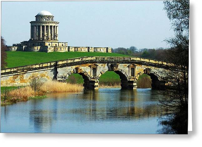 Cathedral Rock Greeting Cards - Castle Howard Greeting Card by Svetlana Sewell