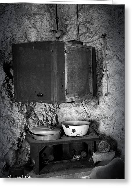 Castle Kitchen Greeting Card by Edgar Torres