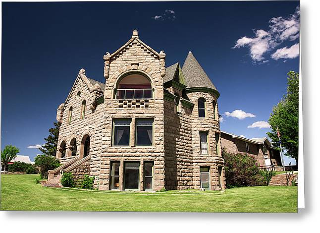 Castle Museum Greeting Card by Todd Klassy