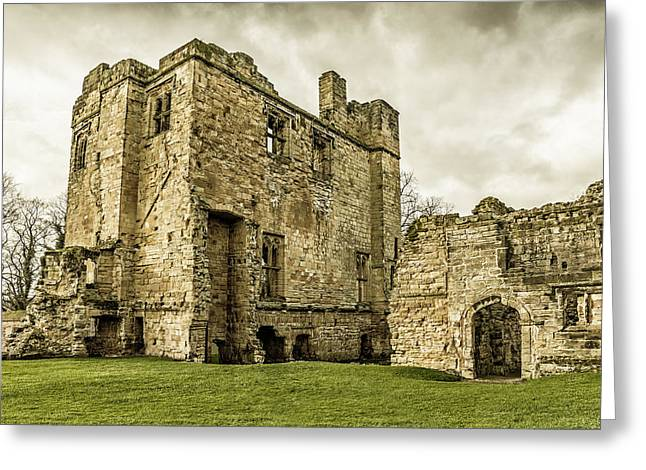 Castle Of Ashby Greeting Card
