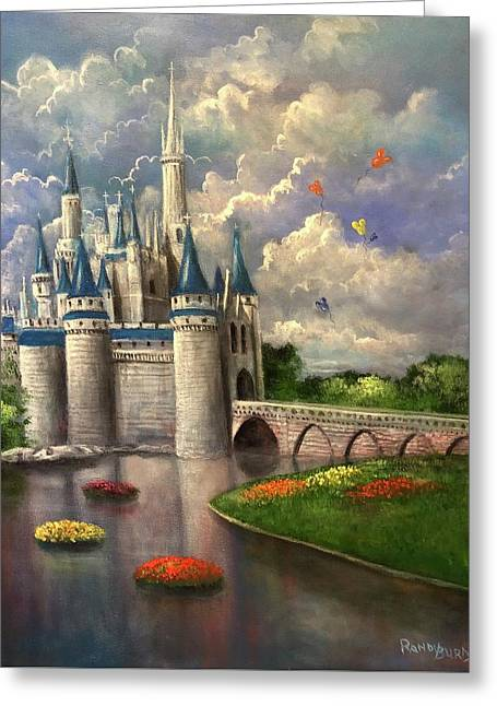 Castle Of Dreams Greeting Card
