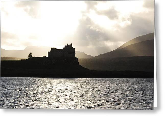 Castle On Scotland's Inner Hebridean Islands Greeting Card by Kelsey Horne
