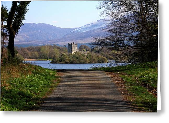 Castle On The Lakes Greeting Card