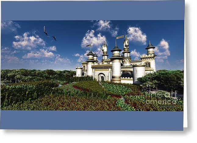 Castle Royal Greeting Card