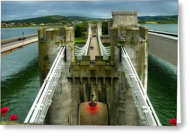 Castle Greeting Card by Svetlana Sewell