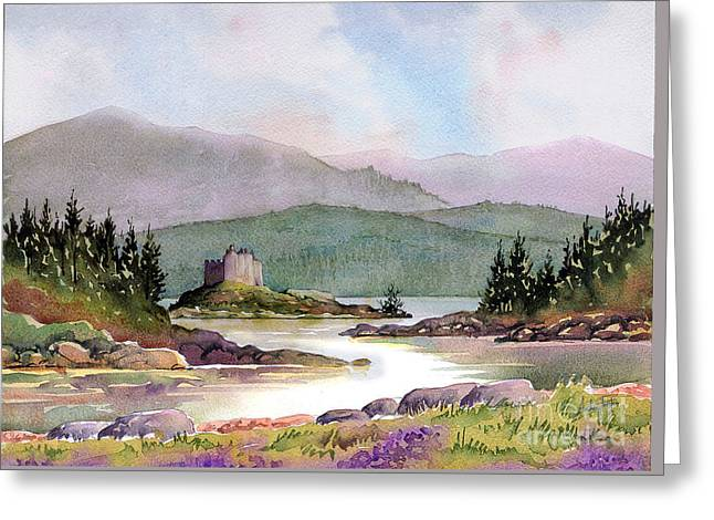 Castle Tioram  Greeting Card by Anthony Forster