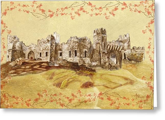 Castle Ward Vintage Greeting Card