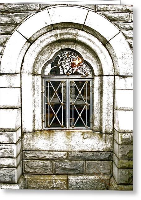 Castle Window Greeting Card