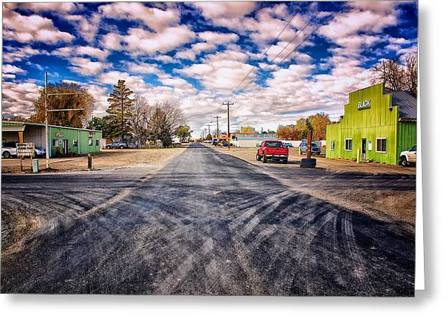 Castleford Idaho Greeting Card