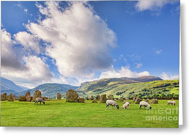 Castlerigg Stone Circle Greeting Card by Colin and Linda McKie
