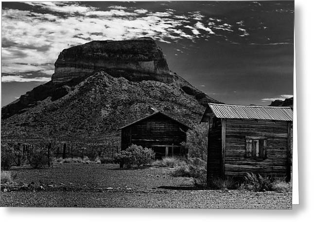 Castolon Ghost Town Greeting Card