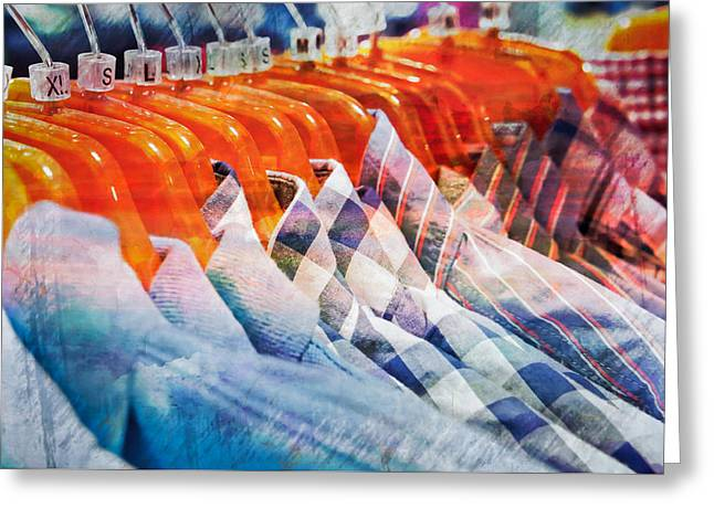 Casual Shirts Greeting Card by Tom Gowanlock