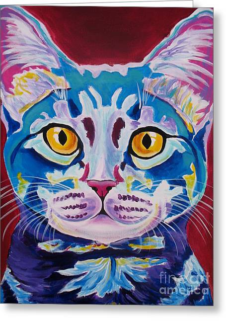 Cat - Mystery Reboot Greeting Card by Alicia VanNoy Call