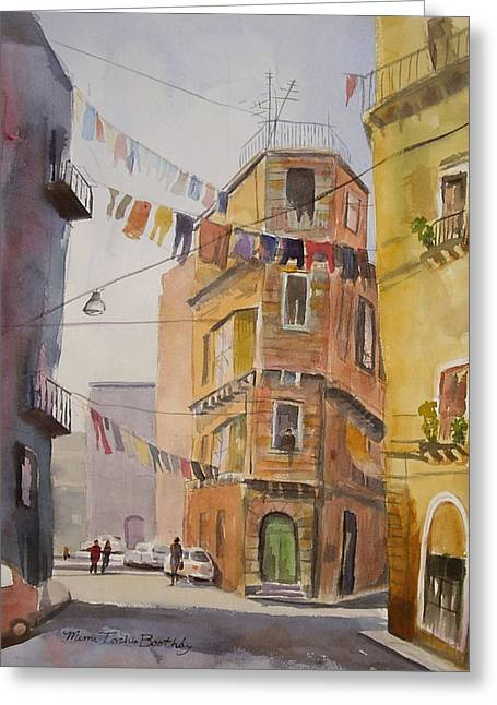 Catania - Blowing In The Wind Greeting Card
