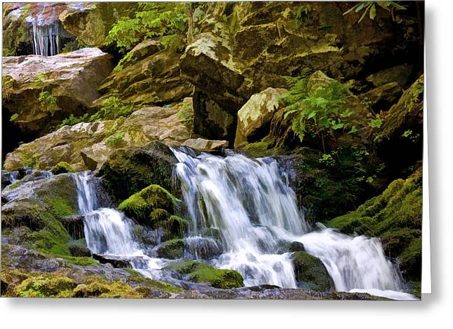 Catawba Falls 2 Greeting Card