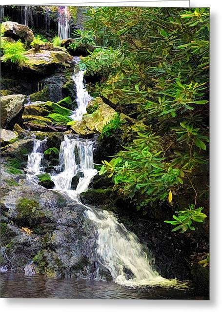 Catawba Falls North Carolina Greeting Card