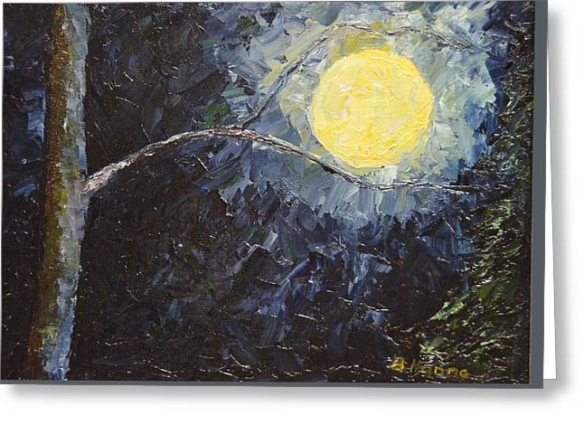 Catching The Moon Greeting Card