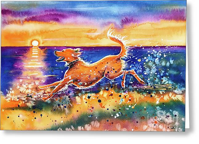 Catching The Sun Greeting Card