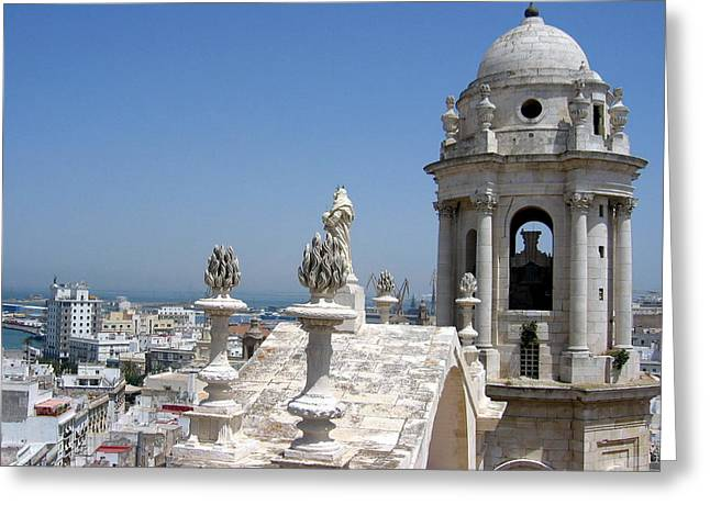 Catedral De Cadiz II Greeting Card by Lindsey Orlando