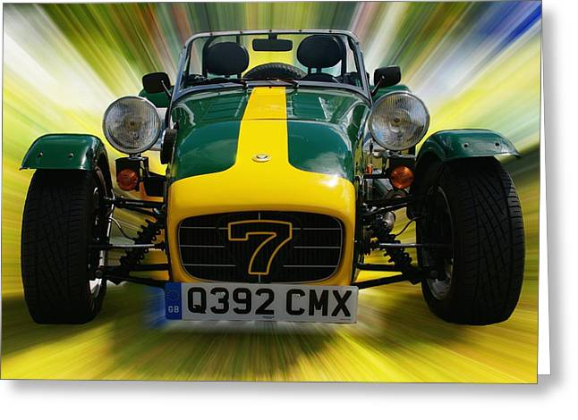 Caterham 7 Greeting Card