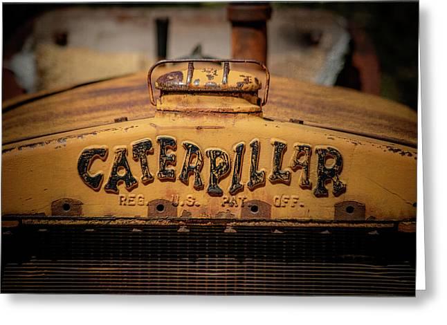 Caterpillar Greeting Card