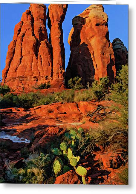 Cathedral 06-074 Greeting Card
