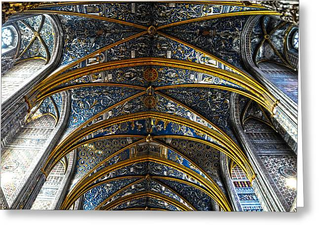 Cathedral Albi Greeting Card