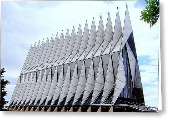 Greeting Card featuring the photograph Cathedral by Antonia Citrino