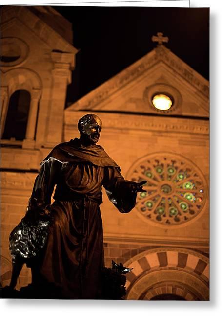 Cathedral Basilica Of Saint Francis Of Assisi Greeting Card