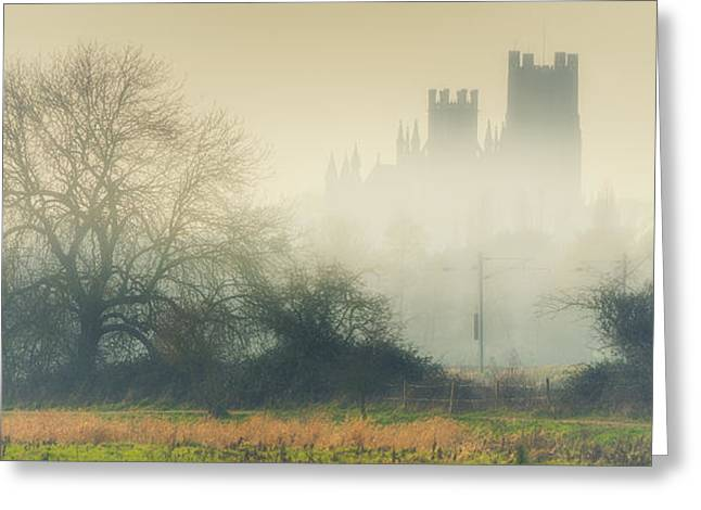 Greeting Card featuring the photograph Cathedral In The Mist by James Billings