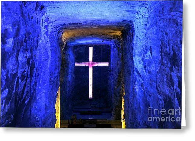 Cathedral In The Salt Mine Greeting Card