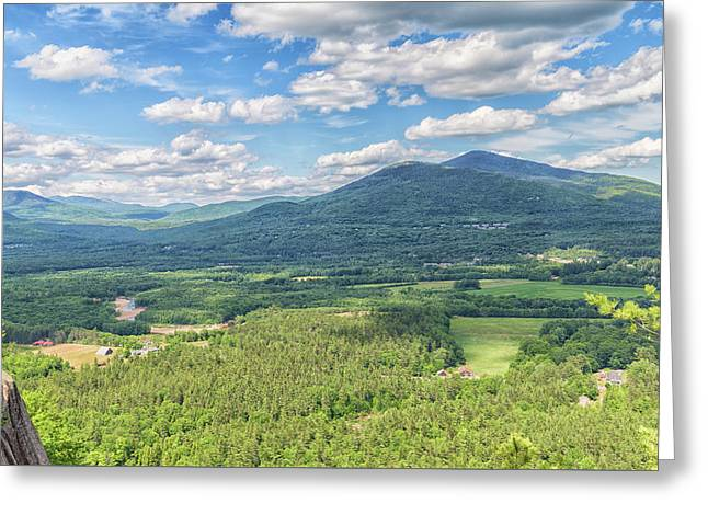 Cathedral Ledge Greeting Card by Brian MacLean