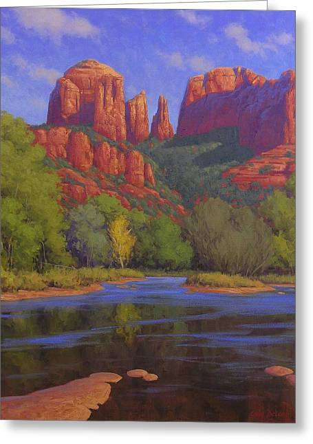 Cathedral Morning Greeting Card