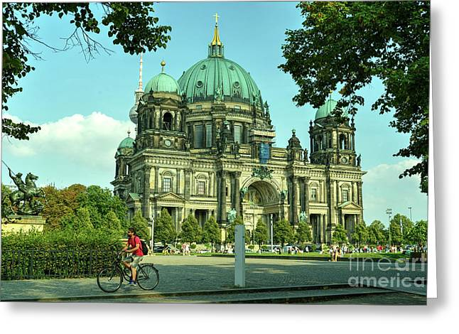 Cathedral Of Berlin  Greeting Card