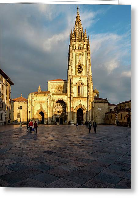 Cathedral Of Oviedo Greeting Card