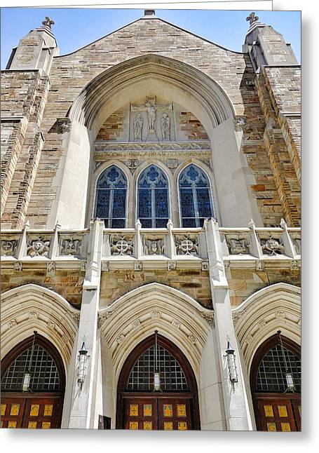 Cathedral Of St John Front Greeting Card
