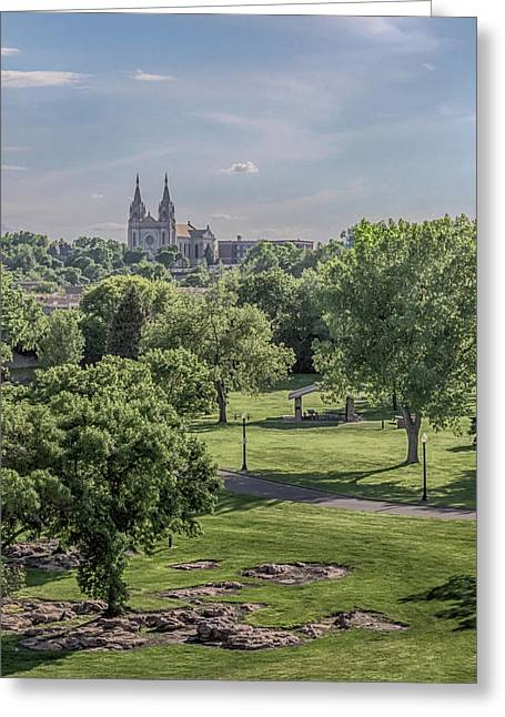 Greeting Card featuring the photograph Cathedral Of St Joseph #2 by Susan Rissi Tregoning