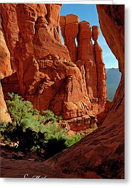 Cathedral Rock 06-124 Greeting Card by Scott McAllister