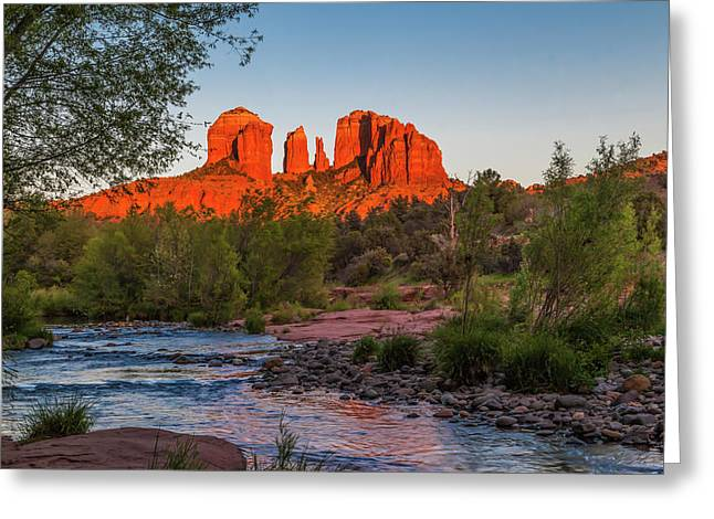Cathedral Rock At Red Rock Crossing Greeting Card