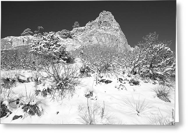 Cathedral Rock Greeting Card by Eric Glaser