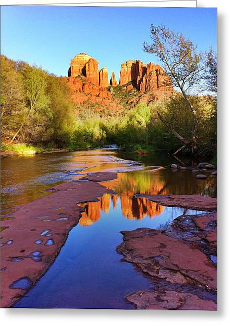 Cathedral Rock Greeting Cards - Cathedral Rock Sedona Greeting Card by Matt Suess